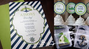 navy and green baby invitations u2013 a vibrant wedding