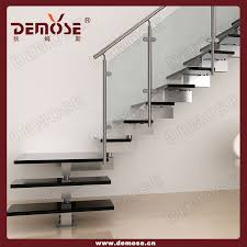 Staircase For Small Spaces Designs - modern single stringer shaped steel wood staircase buy stainless