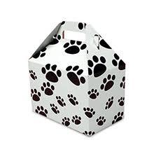 paw print tissue paper animal print gift bags boxes wraps ribbon