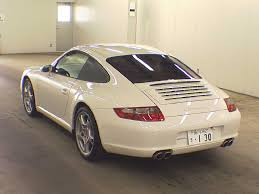 porsche carrera 2007 2007 porsche 911 carrera s japanese used cars auction online
