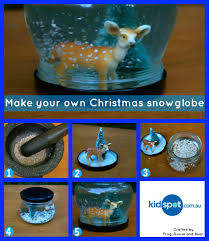 snowglobe christmas crafts make your own trying to think of