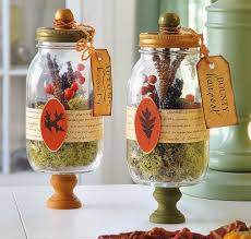 home decor made from recycled materials harvest terrariums mason jar crafts terraria and jar