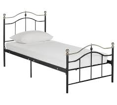 buy brynley single bed frame black at argos co uk your online