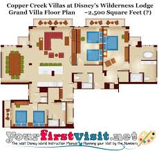 disney wilderness lodge 1 bedroom villa floor plan memsaheb net