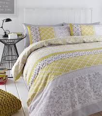 Yellow Duvet Cover King Gray And Yellow Duvet Set 784