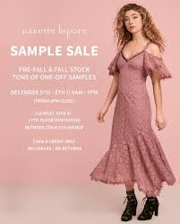 nanette lepore nanette lepore sle sale new york december 2017