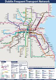 Transport Map Behold The Dublin Transport Map Broadsheet Ie