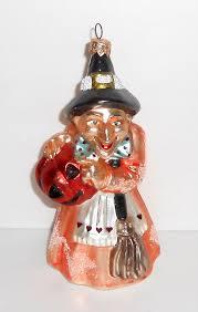christopher radko ornament agnes and endora witch gem
