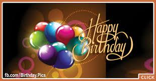 classy balloons gold text happy birthday card happy birthday