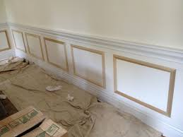 dining room wainscoting trim decor