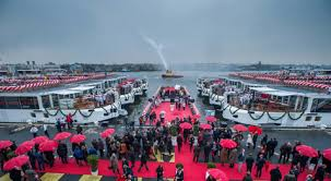 viking river cruises christens 12 new ships in europe