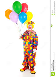 balloons clown classic clown with balloons stock photo image of birthday