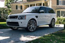 range rover rims land rover range rover sport niche ritz wheels brushed chrome lip