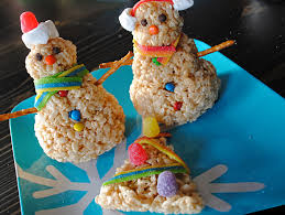 snowman christmas tree how to make a festive rice krispies snowman and christmas tree