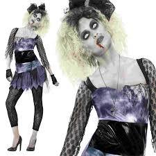 child zombie halloween costume ladies zombie 80s wild child madonna fancy dress costume halloween