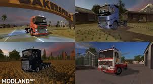 volvo truck 770 fs17 pack v2 u2013 volvo trucks pack mod farming simulator 17