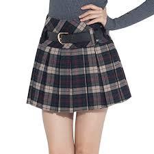 women s plaid skirt