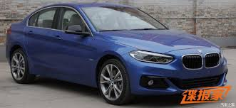 bmw 1 series competitors photos of 2017 bmw 1 series sedan for china will get up to 231hp