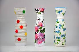 Diy Plastic Bottle Vase Wazon Z Plastikowej Butelki Recycled Diy Vase With A Plastic