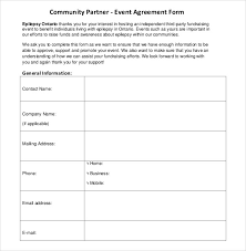 event planner contract related for 7 event planning contract 7