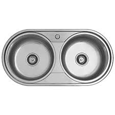 Round Kitchen Sink by Double Bowl Round Kitchen Sink