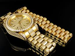 stainless steel gold bracelet images Mens 18k yellow gold finish stainless steel presidential watch jpg