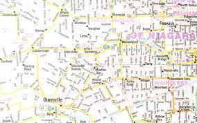 Niagara Falls Canada Map by Map Of Borden Ontario Canada Canadian Forces Base Borden Map