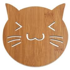 wooden cat large wooden cat coaster cat australia