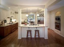 remodeling kitchen island granite was used for the island and perimeter counters in this