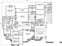 country style floor plans country style house plans 7135 square foot home 2