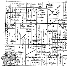Craig Colorado Map by Sherburne Co Mn Hist Soc Santiago Twp Plat Map