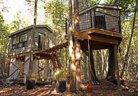 tour an epic 35 000 treehouse with a zipline and meditation room
