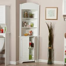 White Corner Bathroom Cabinet Riverridge Home Ellsworth Corner Cabinet White Walmart