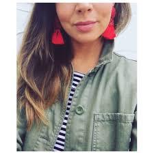 hm earrings everyday jo tassel earrings