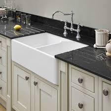 Astini Belfast   Bowl White Ceramic Kitchen Sink  Waste EBay - Ceramic kitchen sink