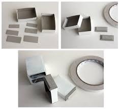 small handmade decorative wardrobe out of matchbox modern