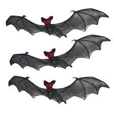 Best Halloween Decoration Prextex Halloween Decor Set Of 3 Realistic Looking Spooky Nylon