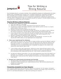 Strong Resume Words Sumptuous Design Strong Resume 12 Strong Resume Resume Example