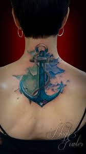 water color anchor tattoo tattoos by hugh pinterest anchor