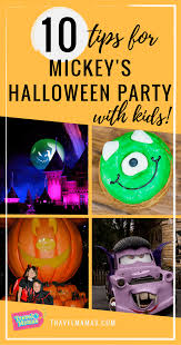 tips for mickey u0027s halloween party with kids at disneyland