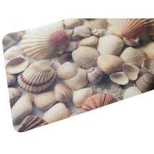 Seashell Bath Rug Seashell Bathroom Rug Wayfair
