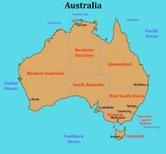 Map Of World Oceans by Some Links For A Class Looking At Australia U0026 The World U0027s Oceans