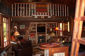 cowboy cabin has two lofts u2013 pure salvage living