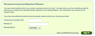 www compass state pa us renew your benefits food stamps help