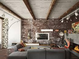 exposed brick exposed brick wall interior design ideas