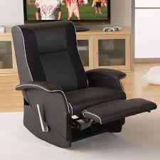 x rocker slim home theater recliner furniture for media room