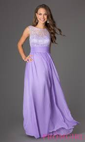 light purple long dress long coral prom dress with illusion lace promgirl
