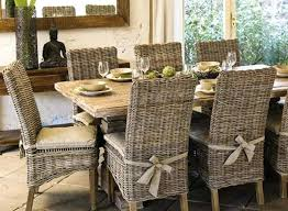 indoor wicker dining table wicker dining chairs iamfiss com