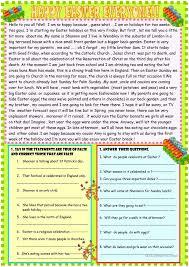 reading comprehension worksheets for advanced esl students how