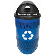 decorative recycling containers for home public u0026 industrial recycling bins recycle away
